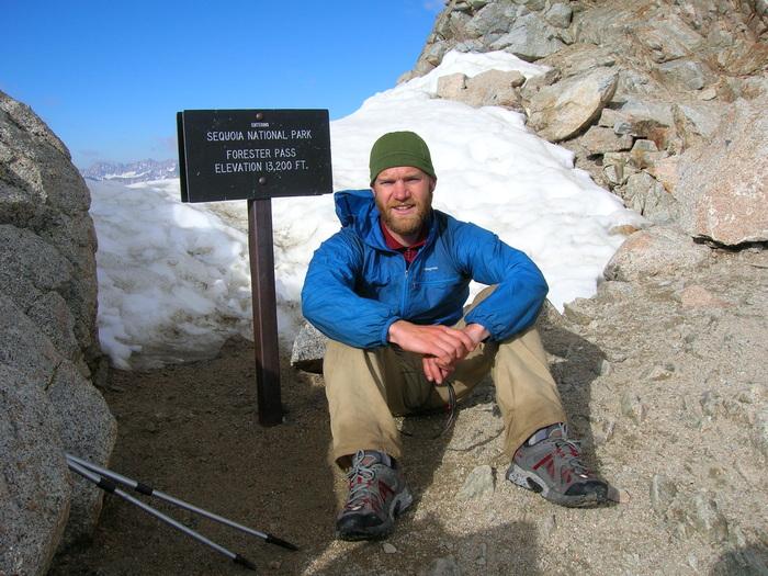 Gantz at Sequoia National Park