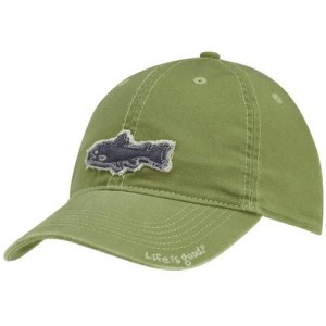 Life is Good Boys Fishing Hat