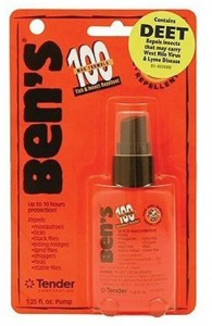 deet bug spray