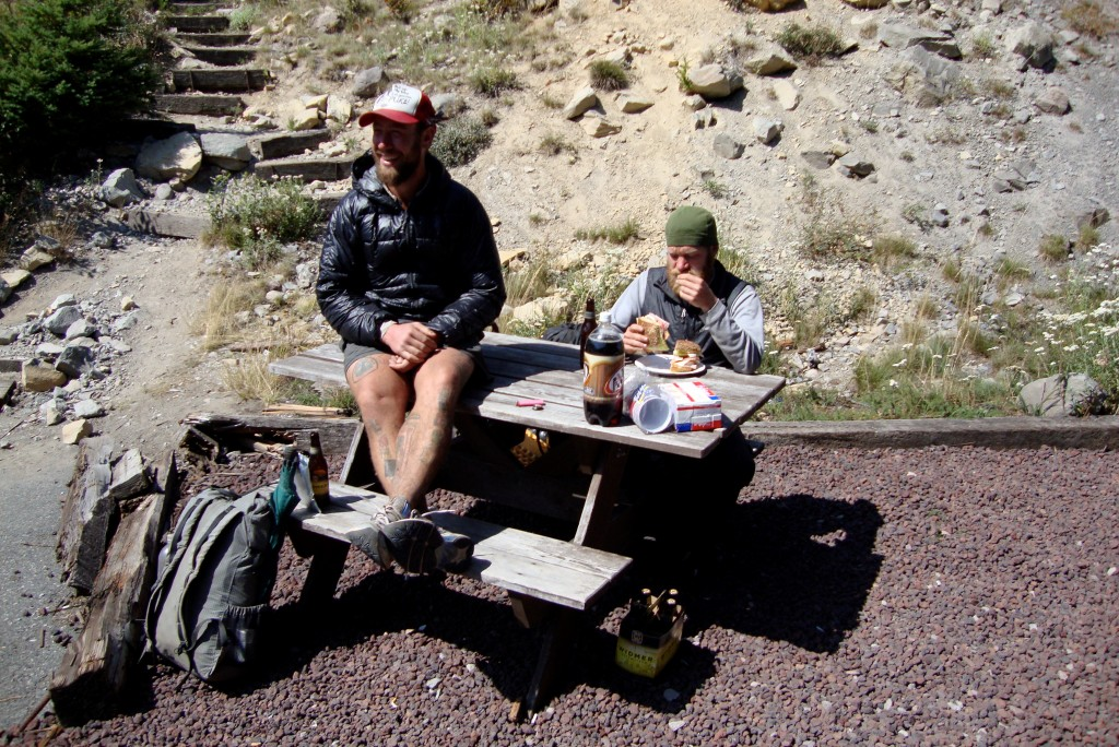 Lint and Gantz on the PCT in WA. Would you pull over for these two guys?