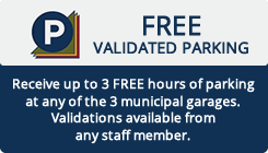 Free Validated Parking
