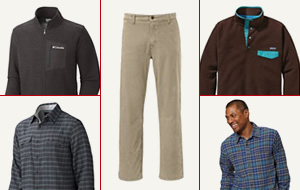 20% off mens outerwear & clothing